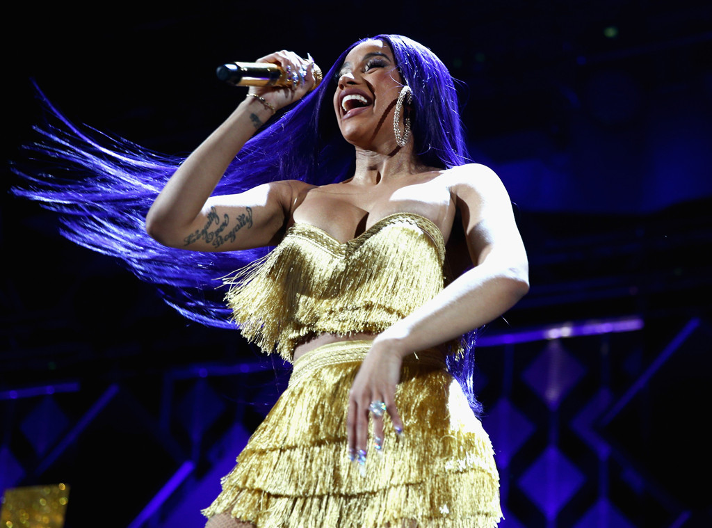 Cardi B Blue Hair: The Amount Of Money Cardi B Spends On Her Hair And Nails