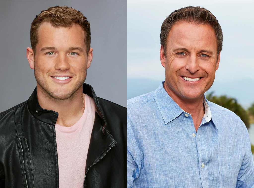 Colton Underwood, Chris Harrison, The Bachelor