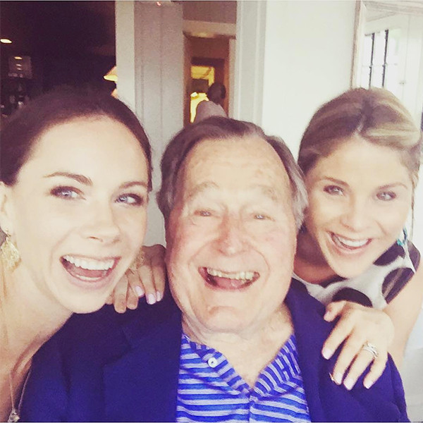 Jenna Bush Hager, George H.W. Bush, Barbara Bush