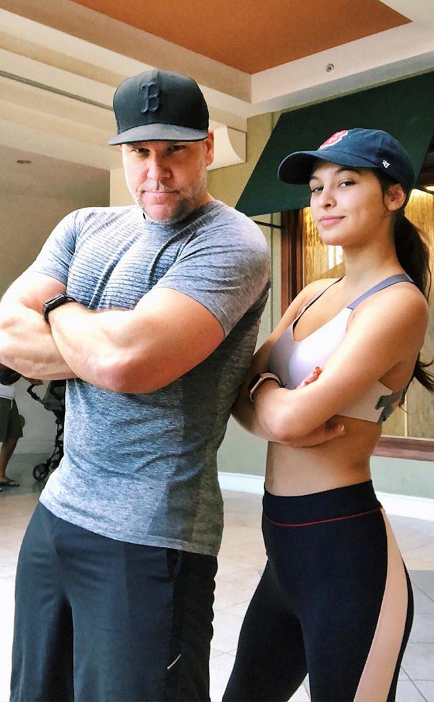 Dane Cook and 19-Year-Old Girlfriend Kelsi Taylor Hit the