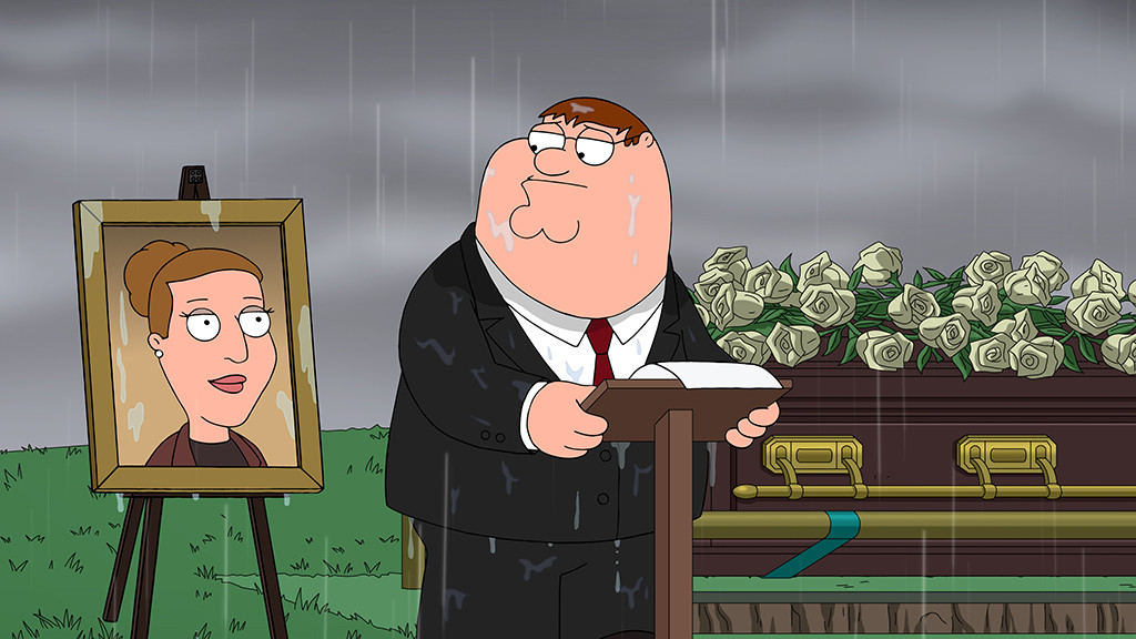 Family Guy, Carrie Fisher