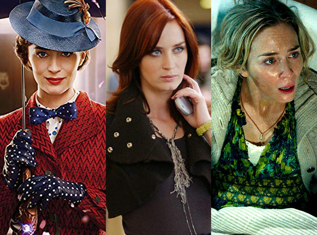 Mary Poppins Returns, The Devil Wears Prada, A Quiet Place, Emily Blunt