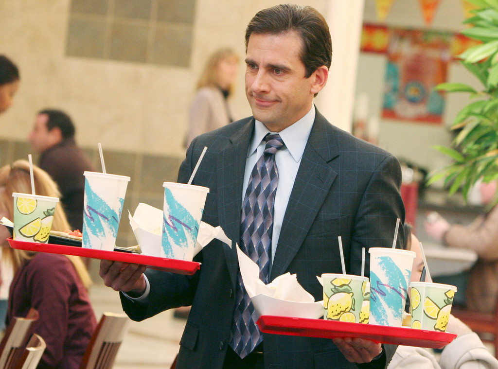 Steve Carell, The Office, Bacon