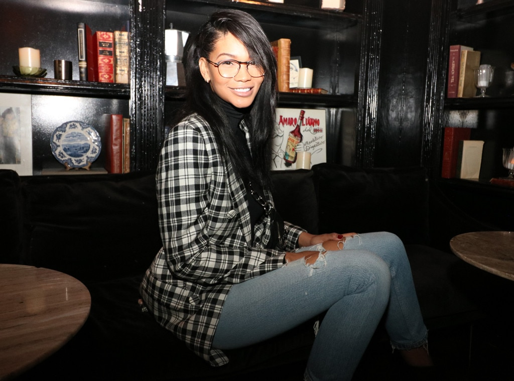 Casa Apicii -  All eyes are on supermodel  Chanel Iman who helped host an intimate holiday dinner with Lenscrafters.