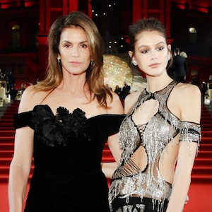 ESC: British Fashion Awards, Cindy Crawford, Kaia Gerber