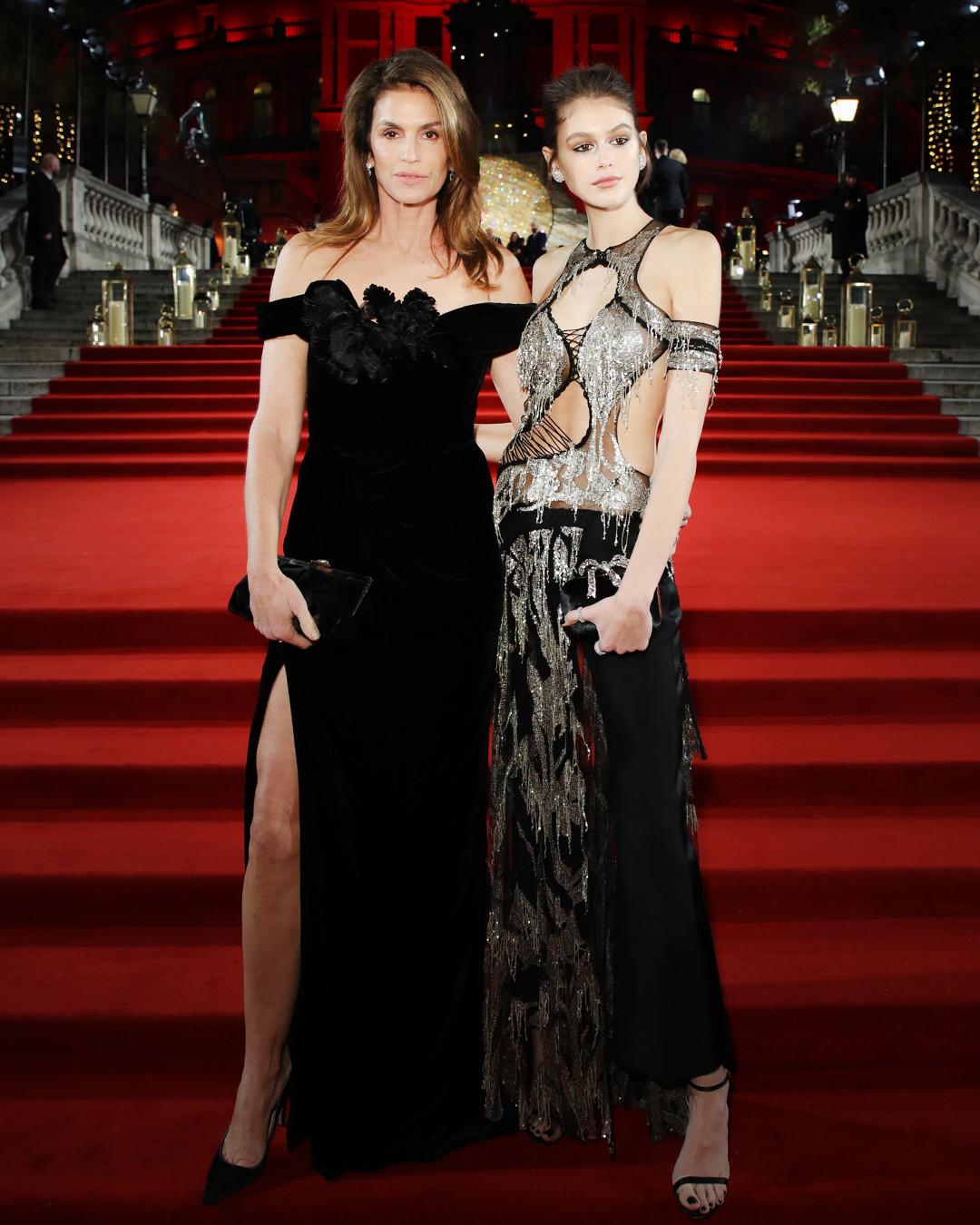 ESC: British Fashion Awards, Cindy Crawford, Kaia Gerber