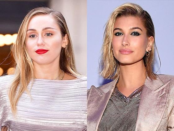 Miley Cyrus le hizo bullying a Hailey Baldwin