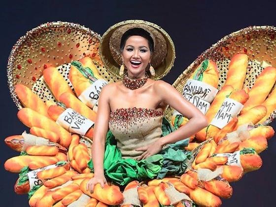 Los mejores memes que dejó la competencia de traje típico en el Miss Universo