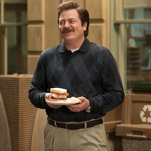 Nick Offerman, Parks and Recreation, Bacon