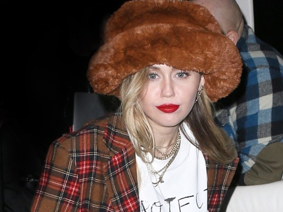 """Miley Cyrus Covers """"Happy Xmas (War Is Over)"""" With Help From Sean Ono Lennon"""