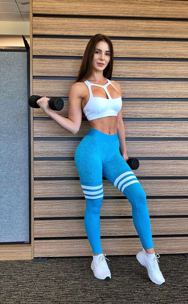 Anfisa Nava, 90 Day Fiance, Body Building