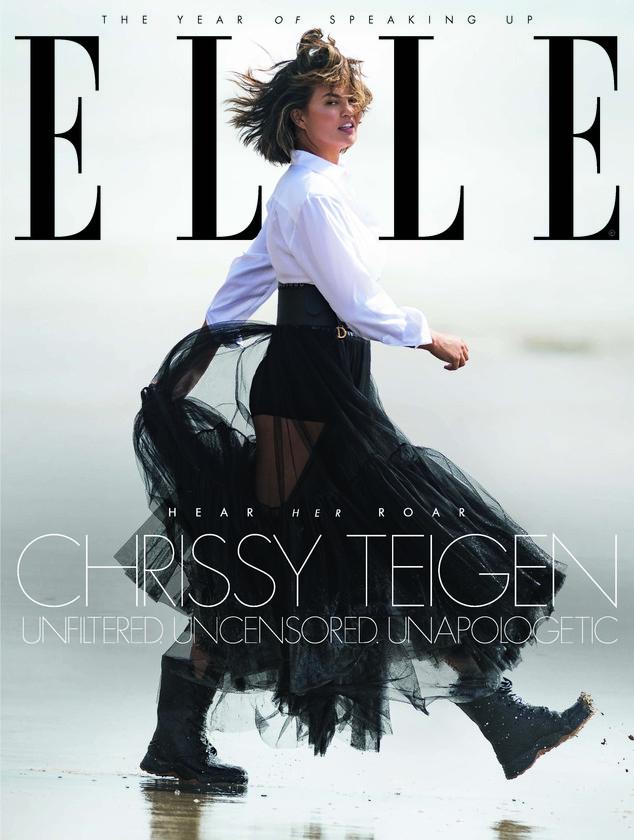 Chrissy Teigen, ELLE UK