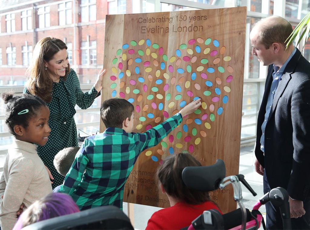 Kate Middleton, Prince William, Evelina London Children's Hospital Visit
