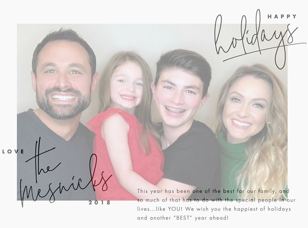 Jason Mesnick -  Happy holidays from the Mesnick family!