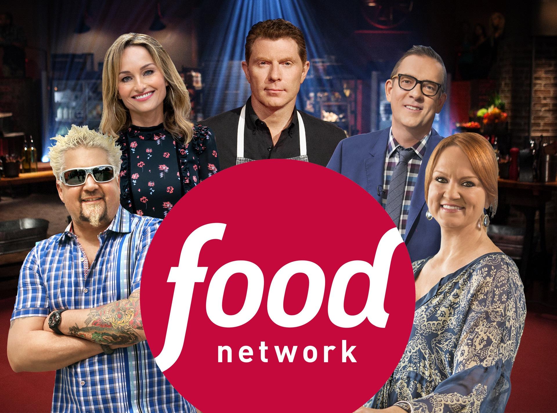 Secrets of the Food Network, Bobby Flay, Giada De Laurentiis, Ted Allen, Guy Fieri, and Ree Drummond