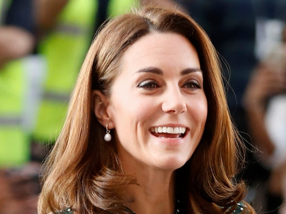 Kate Middleton Is Pretty in Polka Dots for New Children's Hospital Role