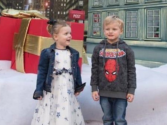 Princess Charlene Shares Adorable Photos From Her Twins' Superhero Birthday Party