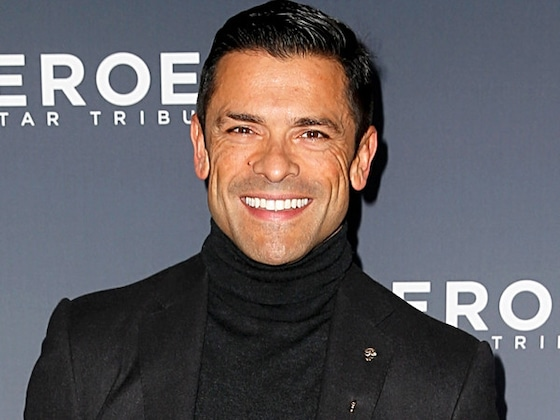 Mark Consuelos and His <i>Riverdale</i> Family Star on Kelly Ripa's ''Best'' Holiday Card Yet