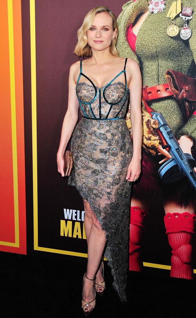 Diane Kruger, Welcome To Marwen Premiere