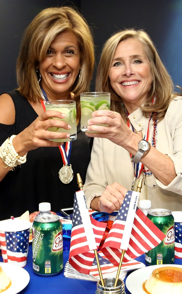 Meredith Vieira -  It's a  Today  reunion any morning TV fan would love. While the former co-anchor has a game show in the works for summer 2019, we have no doubts thatif Hoda and Meredith came together again, it would be like no time has passed.