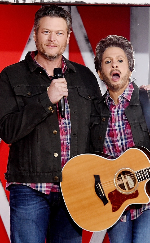 Blake Shelton - The Voice  may keep him busy in Los Angeles. But this country singer is beloved by Hoda and the  Today  show audience whenever he pays a visit—especially on a special Halloween edition.