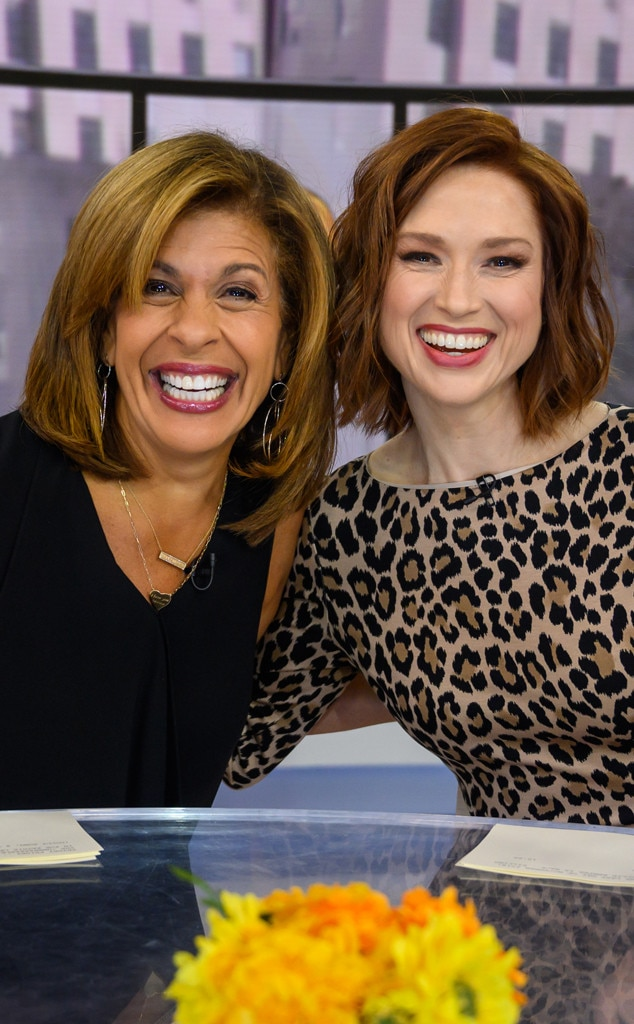 Ellie Kemper -  In recent months, the  Unbreakable Kimmy Schmidt  star has taken on a more prominent role on Today  by guest co-hosting and even interviewing a few Hollywood superstars like Dolly Parton.