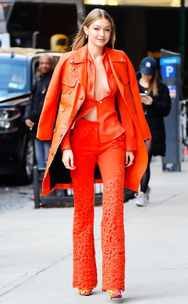 ESC: Street Style: Gigi Hadid