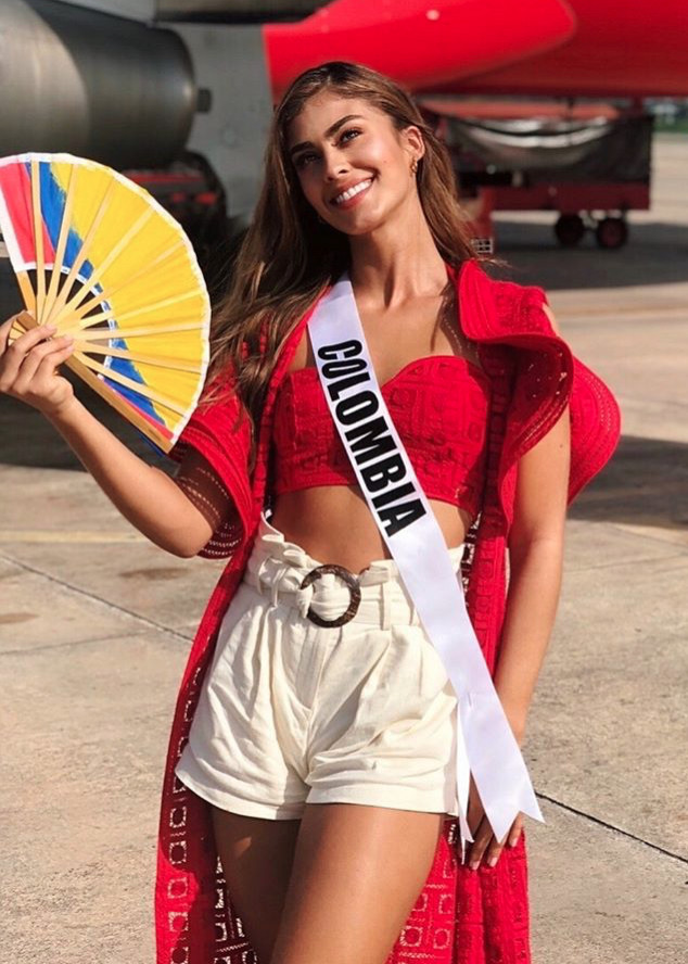 Miss Colombia, Miss Mexico,