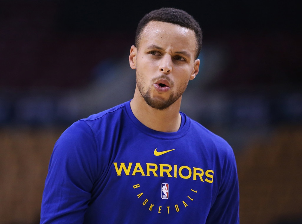 Warriors' Steph Curry says he was 'obviously' joking about moon landing