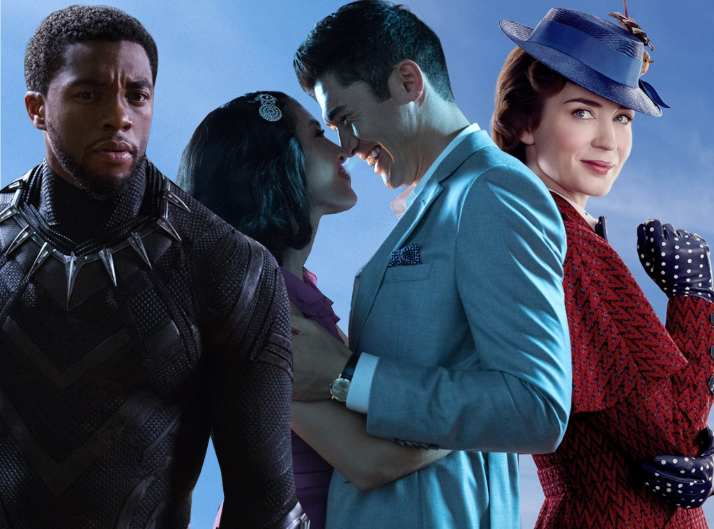 Best Movie of 2018, Black Panther, Crazy Rich Asians, Mary Poppins