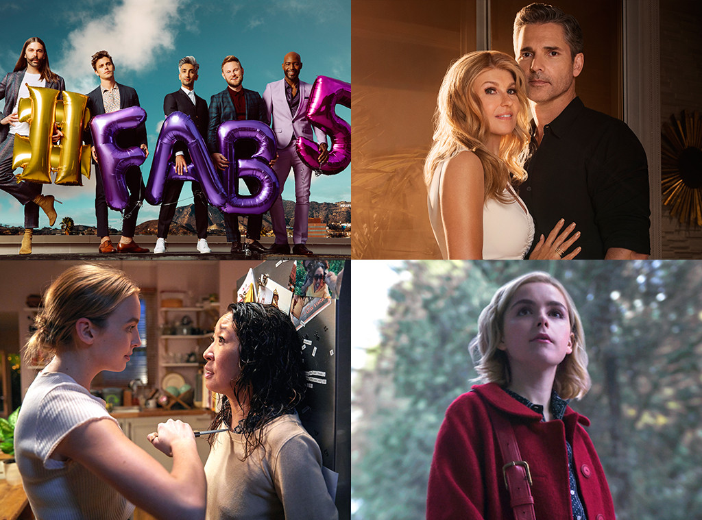 Queer Eye, Dirty John, Killing Eve, Chilling Adventures of Sabrina, Best 2018 TV Shows