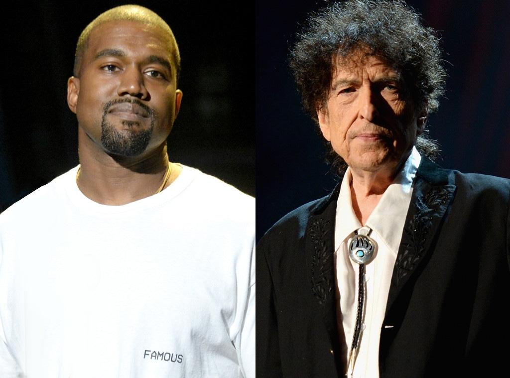 Kanye West, Bob Dylan