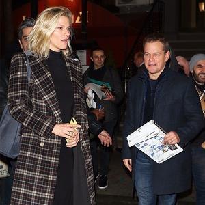 Matt Damon, Lindsay Shookus