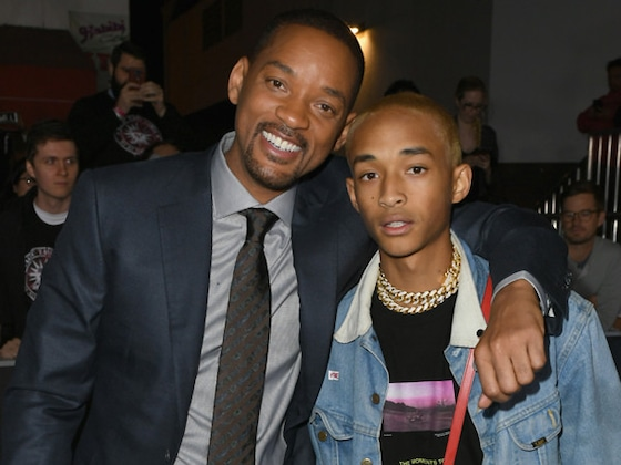 Will Smith Shares Funny Throwback of Jaden Smith's First Sip of JUST Water