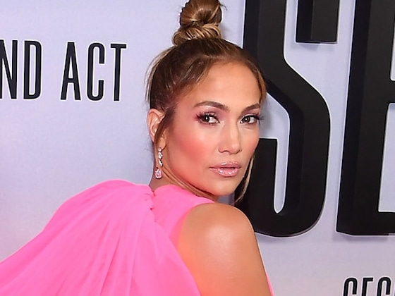 Jennifer Lopez's Red Carpet Dress Will Leave You Breathless
