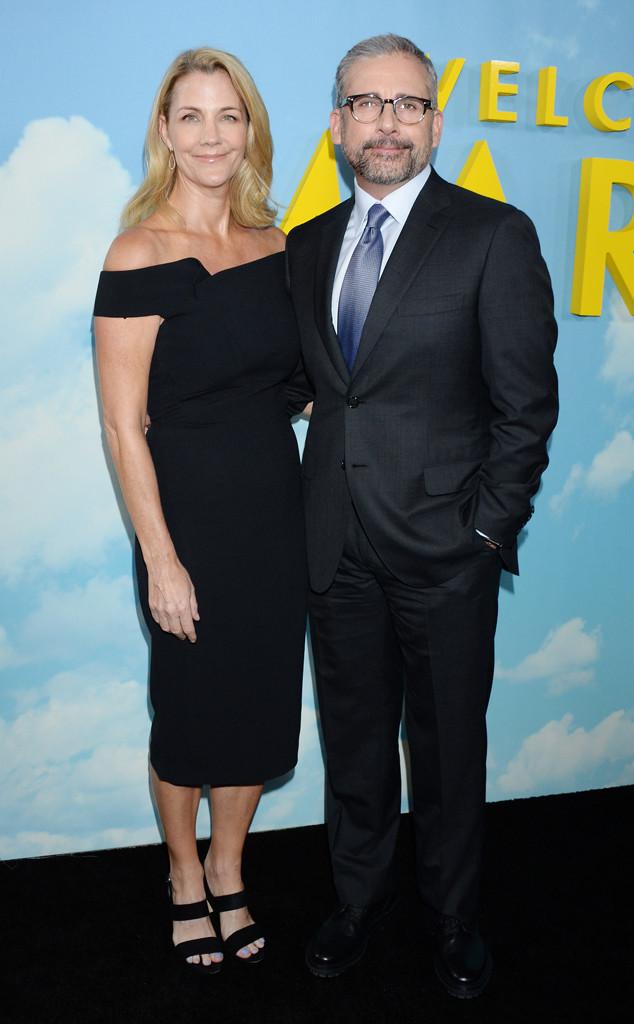 Steve Carell, Nancy Carell