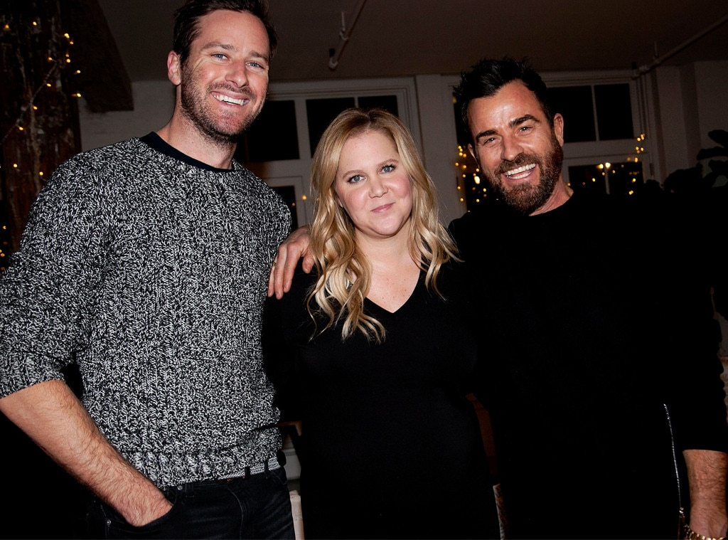 Amy Schumer, Justin Theroux, Armie Hammer