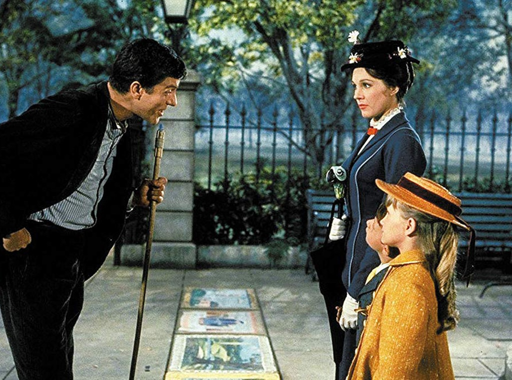 And the Awards Go To - Mary Poppins  earned five of the 13 Academy Awards that it was nominated for in 1965. Julie Andrews  also won a Golden Globe for Best Performance by an Actress in a Leading Role—Musical or Comedy.