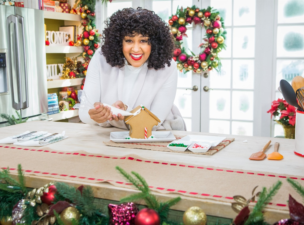 Tia Mowry -  While stopping by  Home & Family , the actress promotes her new Hallmark Channel Christmas film  A Gingerbread Romance premiering December 16.