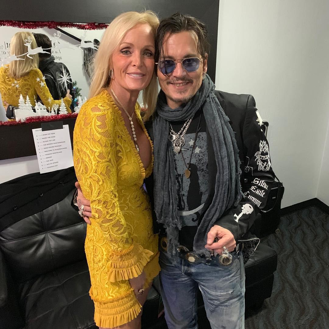 Johnny Depp, Letitia Frye