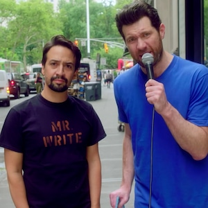 Billy on the Street, Lin-Manuel Miranda