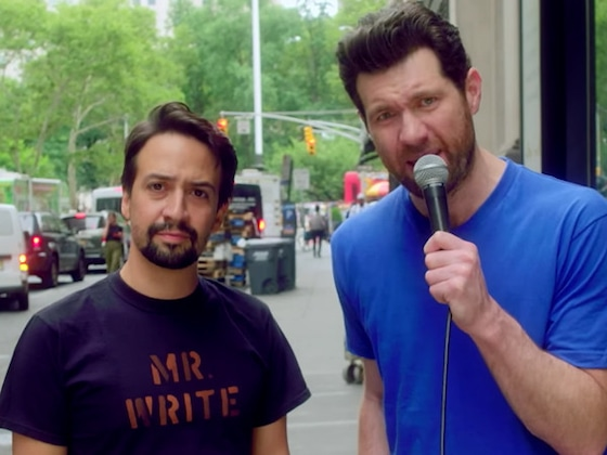 Watch Lin-Manuel Miranda and Billy Eichner Terrify and Delight People on the Street