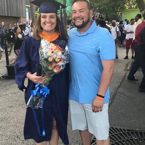 "Proud Boyfriend -  ""Congratulations honey, Masters in Nursing and Nurse Practitioner!!! Drexel University, BOOM!"" Jon wrote on Instagram when celebrating his girlfriend's big accomplishment."