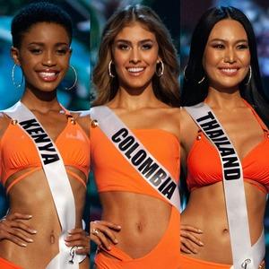 Miss Kenya, Miss Colombia, Miss Thailand, Miss Universe 2018