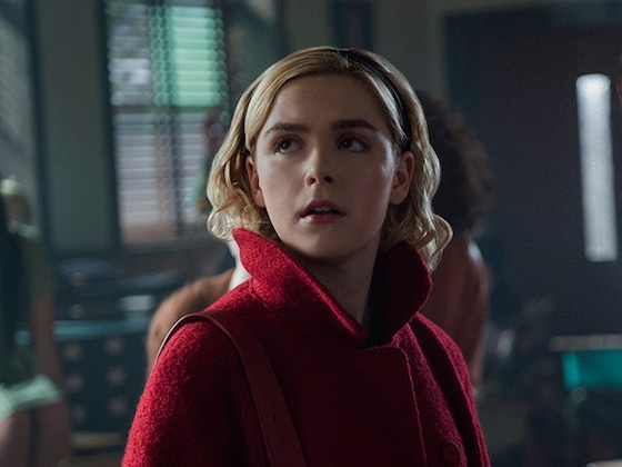 <i>Chilling Adventures of Sabrina</i>'s Holiday Special Is Spooky, Festive, and Extra Emotional
