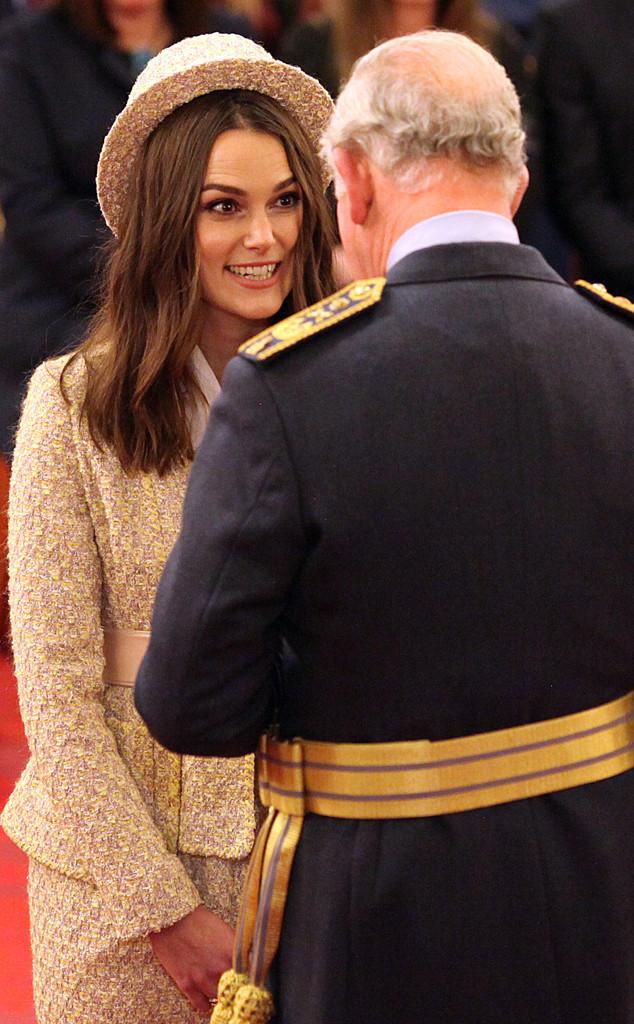 Keira Knightley, Prince Charles
