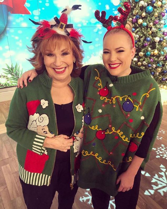 Meghan McCain, Joy Behar, Christmas 2018