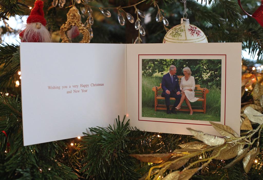 Prince Charles, Duchess Camilla, Royals, Christmas Card
