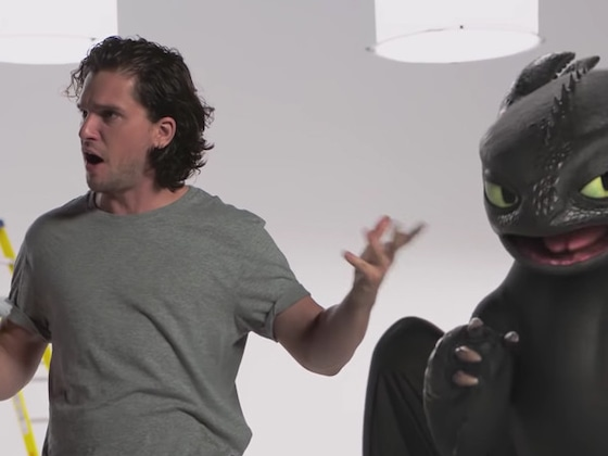 Kit Harington's &quot;Audition&quot; for <i>Game of Thrones</i> With This Famous Dragon Will Make Your Day