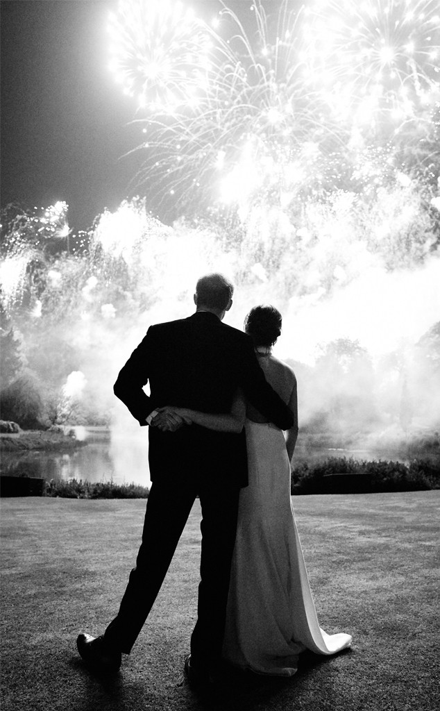 Prince Harry, Meghan Markle, Royal Wedding, Firework display